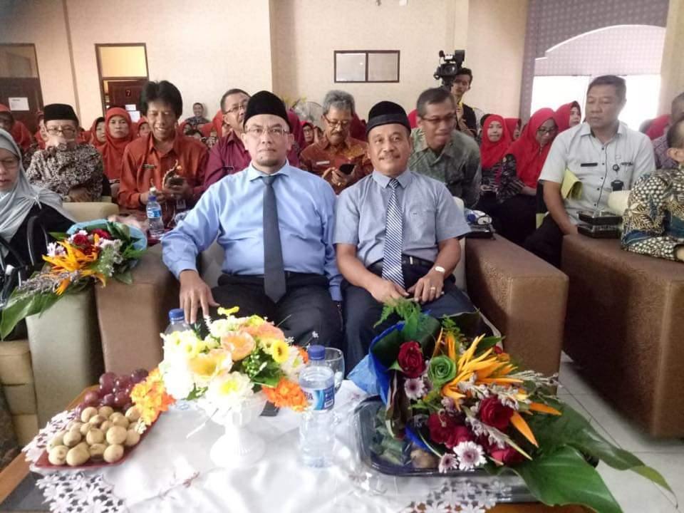 Serah Terima Jabatan dan Pisah Sambut Kepala SMK Negeri 1 Jombang