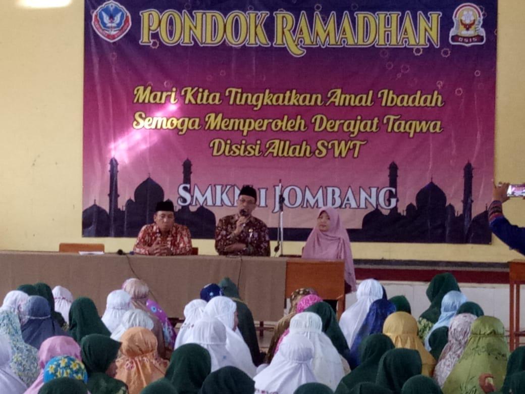 SMK Negeri 1 Jombang Selenggarakan Pondok Romadhon