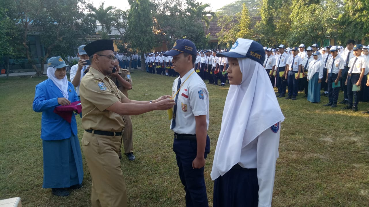 Masa Pengenalan Lingkungan Sekolah (MPLS) SMKN 1 Jombang