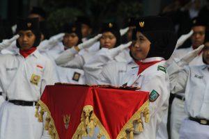 UPACARA MEMPERINGATI HARI KEMERDEKAAN BANGSA INDONESIA KE 72